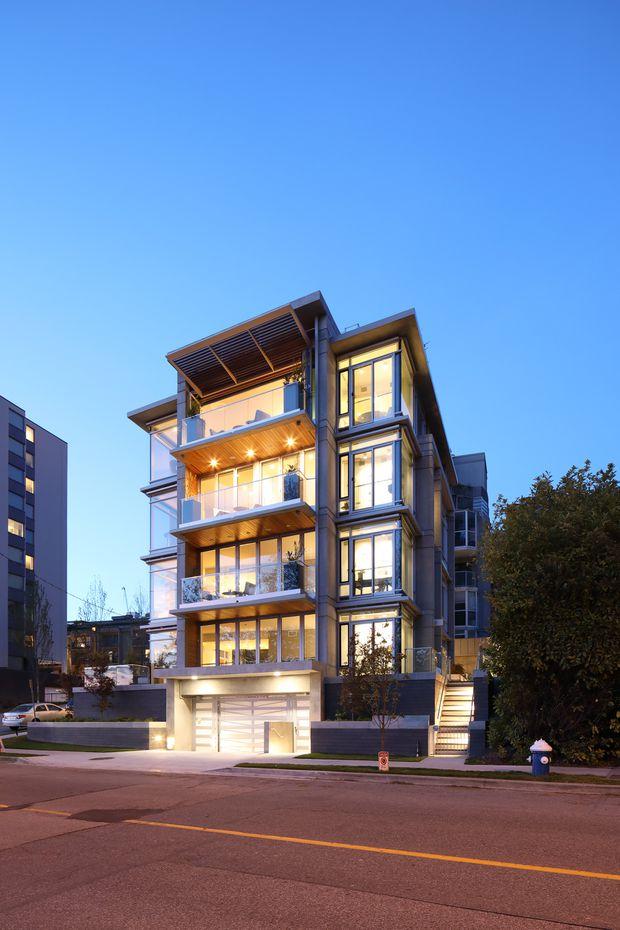 温哥华惊现最另类公寓!只有3套、建在海滩上、亿万富豪才负担得起!