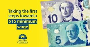 BC最低工资涨到$13.85/h了!有啥用…还不是菜都吃不起!还有可能失业