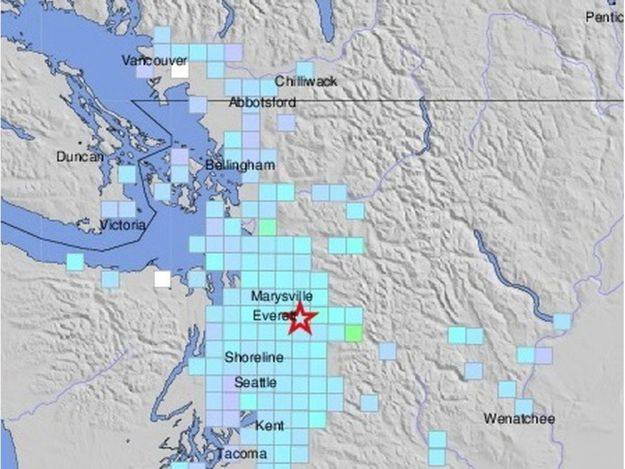 突發!西雅圖地震!溫哥華有震感!地震越來越近 我想買個應急包……