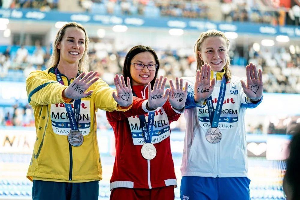 加拿大游泳世界冠軍,是中國不要的孩子……