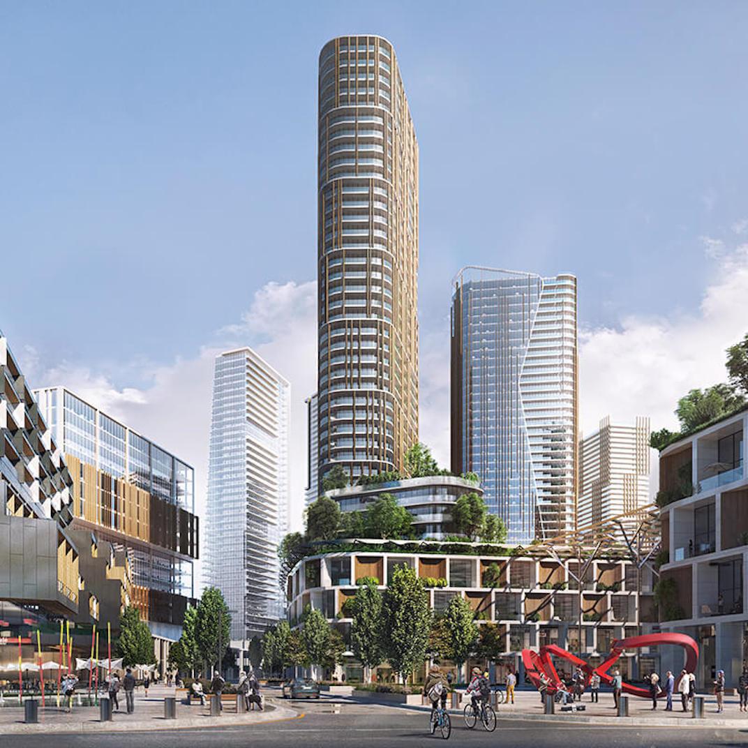 高贵林又要建天车站了!还有住宅、娱乐、商业一体化的新市中心!