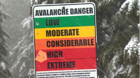 危险!BC省发布雪崩警告!假日要滑雪的注意了啊!
