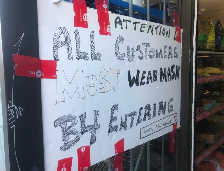 华人老板被揍得鼻青脸肿!商家到底能不能强制客人戴口罩?