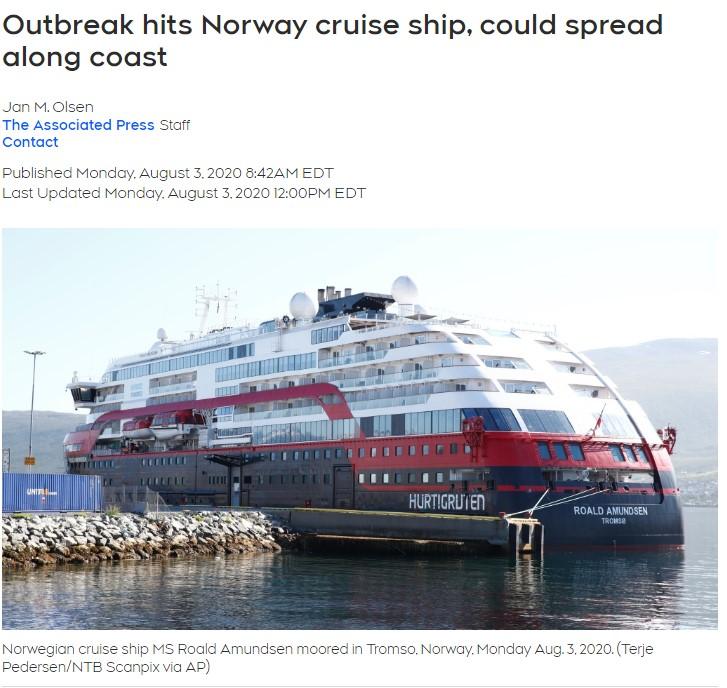 记吃不记打!邮轮又沦陷,墨尔本宣布进入灾难状态,全球第二波还没到9月就开始了