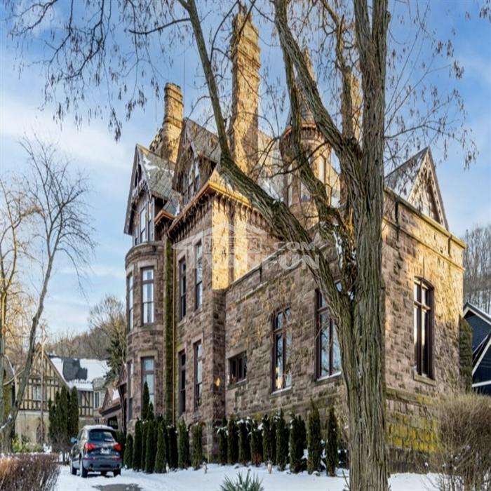 加拿大百年童话古堡,只卖$888万