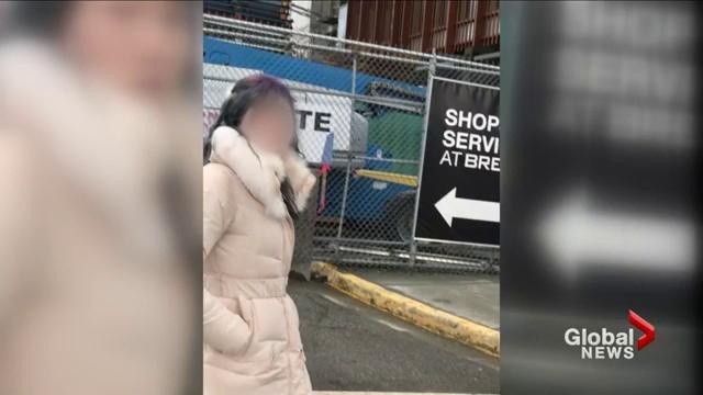这个温哥华亚裔女子疯了!欺负弱小 到处惹事  曾经是全优生