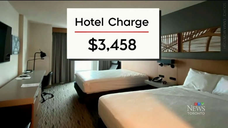 """加拿大隔离酒店$3458住一晚!食物像""""喂猪"""",还不如交罚款回家"""
