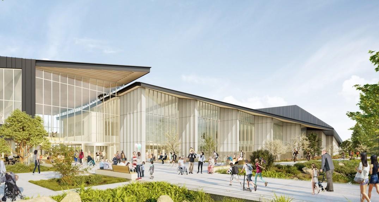 据DailyHive报道,一个新的水上运动中心和社区中心在新西敏破土动工,它将取代已经年迈的加拿大运动会游泳池和百年纪念中心(CanadaGamesPoolandCentennialCentre)。这个耗资1.07亿元的新中心,将建在现有老中心的西面。新中心由本地建筑公司HCMA设计,总建筑面积为114600平方英尺,设有一个50米长的专业八泳道游泳池,包括两个隔板和一个可移动的地板,以确保能代替加拿大运动会游泳池,继续进行一些比赛目的的精英训练。主...